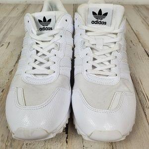 adidas Shoes - Adidas ZX 700 All White EUC   WORN 1X 7m 8w